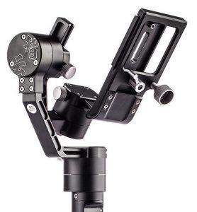 01 3 Zhiyun Steadycam Crane M 3 Achsen Gimbal Schwebestativ Fuer Actioncam Mit TARION Mikrofasertuch Handgelenkstuetze