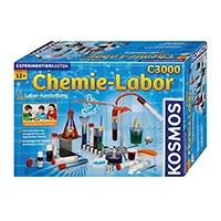 Hobbychemiker und junge Forscher lernen bei 333 Experimenten vielfältige chemische Arbeitstechniken kennen und arbeiten an komplexen Versuchsaufbauten.
