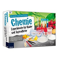 Die große Experimentierbox Chemie - Experimente für Kinder und Jugendliche: Chemie im Alltag entdecken mit professioneller Laborausrüstung, spannenden Experimenten und fundiertem Wissen