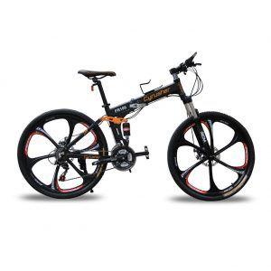26 Zoll Aluminium-Rahmen-Fahrrad Scheibenbremsen Cyrusher aktualisiert neu FR100