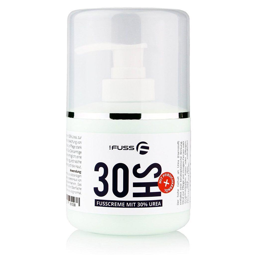 30HS Fusscreme Mit 30 Urea Harnstoff Schrundencreme Schrundensalbe Gegen Trockene Und Rissige Haut