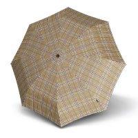 Knirps T.200 Duomatic Taschenschirm / Regenschirm Beige
