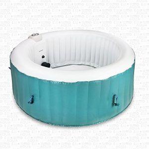 AQUAPARX Whirlpool AP-800SPA Pool 4Personen Wellness Jacuzzi Spa Whirlpoolzubehör Badewanne
