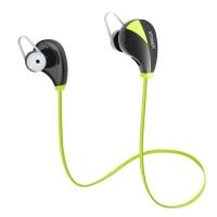 ATTRAKEY S350 Wireless In-Ear Kopfhörer Ohrhörer Sport Sweatproof Noise Cancelling Kopfhörer mit Mikrofon für das Laufen Joggen, Grün