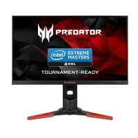 Acer Predator XB281HKbmiprz 71 cm (28 Zoll) Monitor (HDMI, Displayport, USB 3.0, Höhenverstellbar, 1ms Reaktionszeit, NVIDIA G-Sync, EEK C) schwarz/rot