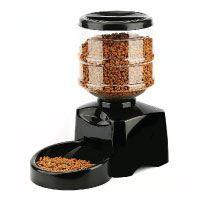 Amzdeal Futterautomat Katze, Automatischer Futterspender für Hund und Katze