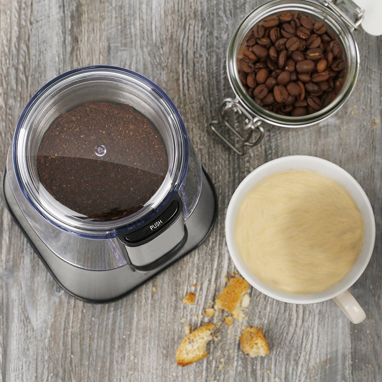 Arendo Schlagmesser Edelstahl-Kaffeemühle - Kaffee Beispiel