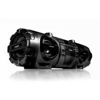 BLAUPUNKT BB 1000 Boombox mit CD, MP3, USB, Bluetooth, UKW, AUX-IN, Mikrofon und Gitarren-Eingang schwarz