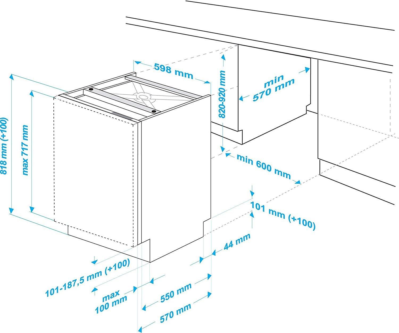 Beko Dun 6634 Fx Unterbau Geschirrspuler Im Test 2018 Expertentesten