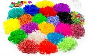 Blinky Loom XXL Bänder Kit , Set mit 24 Farben 5200 Loom Bandz