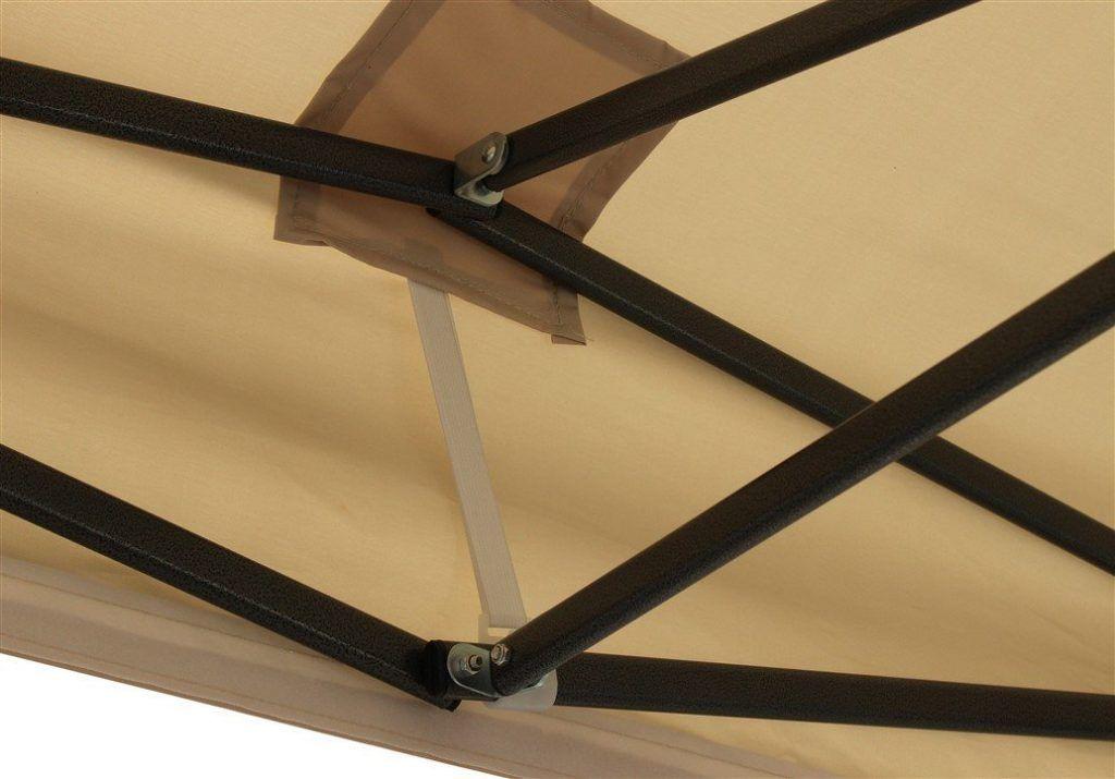 Brandneuer Hochwertiger Strapazierf%C3%A4higer Faltpavillon 3 X 3 Meter PVC Beschichtet