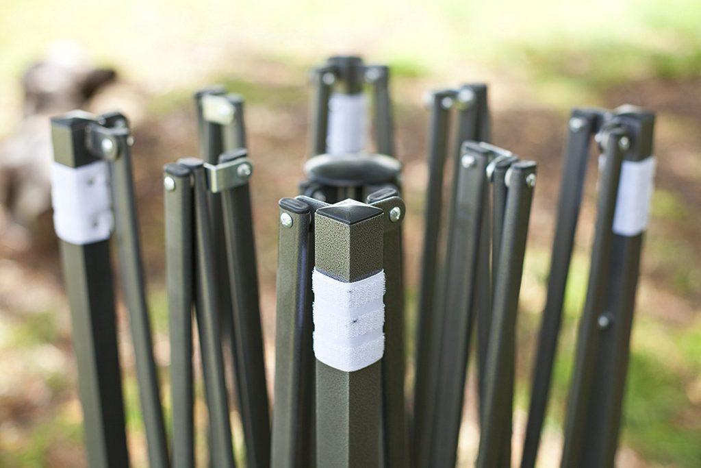 Brandneuer Hochwertiger Strapazierf%C3%A4higer Faltpavillon 3 X 3 Meter PVC Beschichtet F%C3%BCr Einen Sekundenschnellen Aufbau.