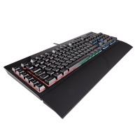 Corsair CH-9206015-DE K55 (RGB Multi-Colour Hintergrundbeleuchtung) Gaming Tastatur DE schwarz