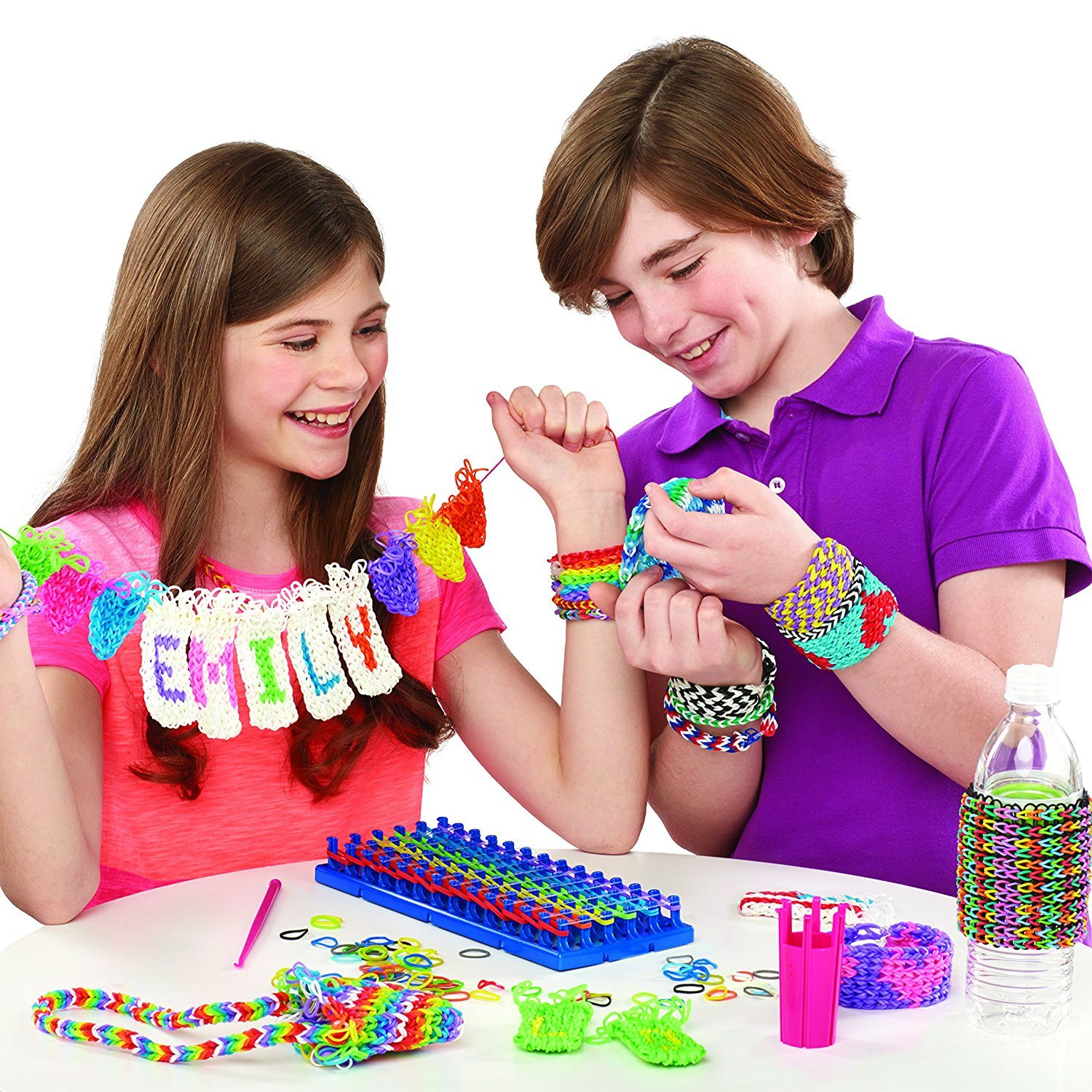 Cra-Z-Loom Super Set mit 6 Reihen Loom [UK Import]