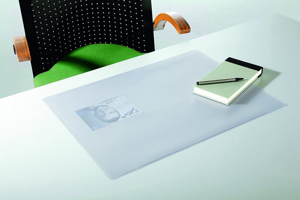 Durable 711319 Schreibunterlage Duraglas 50 X 65 Cm Transparent