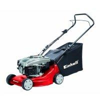 Einhell Benzin Rasenmäher GH-PM 40 P (1,6 kW, 40 cm Schnittbreite, 3-fache Schnitthöhenverstellung 32-62 mm, 45 l Fangsack)