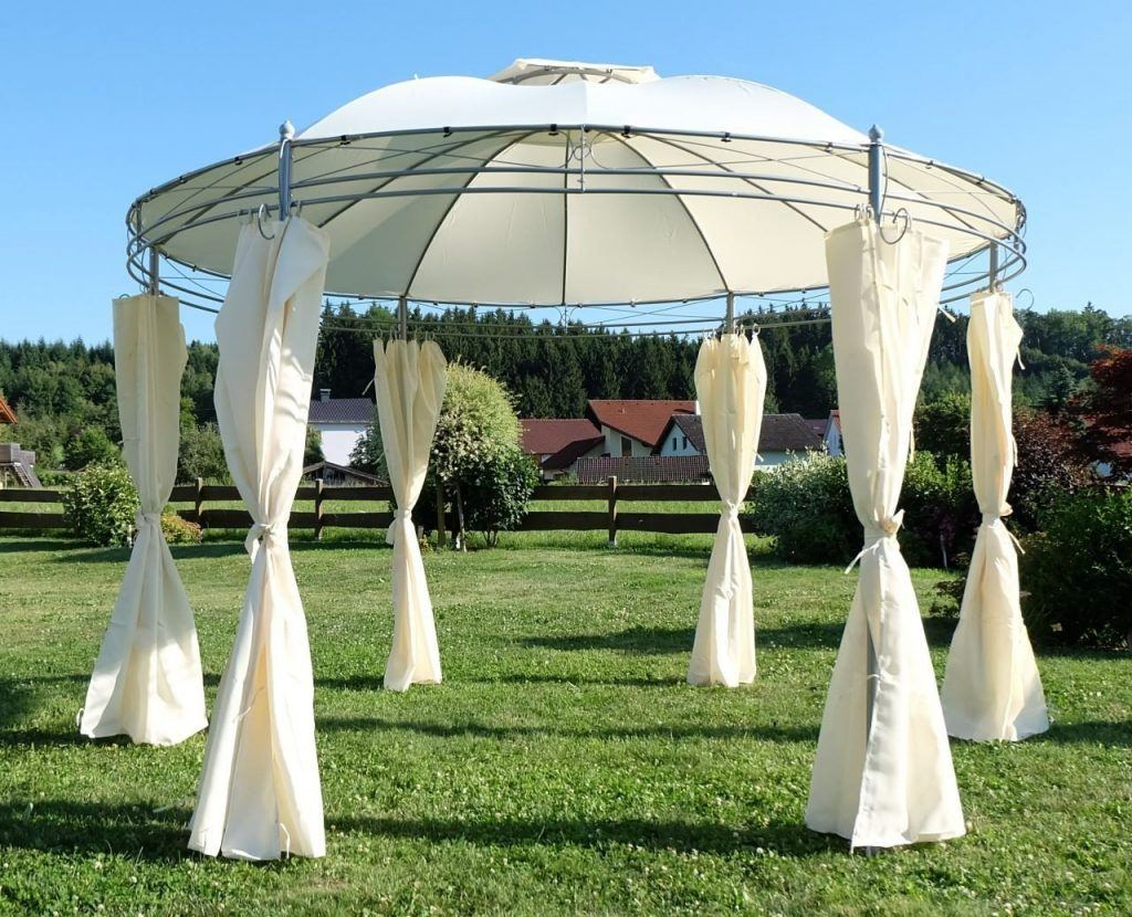 Eleganter Gartenpavillon 35 Meter
