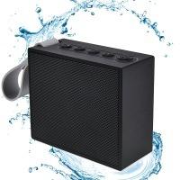 Bluetooth Lautsprecher, Elinker IPX6 Wasserdicht Staubdicht Bluetooth 4,2 Portable Mini Reise Lautsprecher mit Eingebautem Mikrofon HiFi Klangqualität 10 Stunde Spielzeit (schwarz)