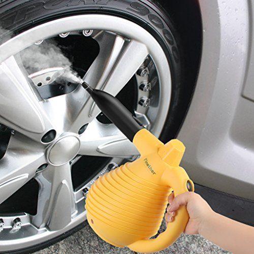 Finether Mehrzweck Tragbarer Dampfreiniger Hochdruckreiniger Mit 12 Zubeh%C3%B6re 640 Ml Wassertank Handdampfreiniger F%C3%BCr Arbeitsfl%C3%A4chen M%C3%BClleimer K%C3%BChlschrank Boden Fenster Autositze .