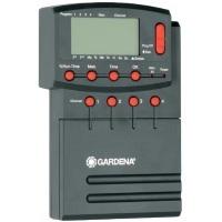Gardena 1276-20 Bewässerungssteuerung Comfort 4040 modular, mit Netzausfallsicherung, automatisch, Indoor & Outdoor (Netzanschluss: 230V, Bewässerungszyklen pro Tag: 4, Sensoren Anschluss: Ja)
