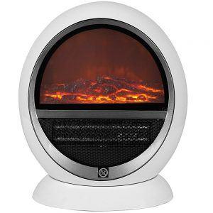 Heizlüfter Elektrischer Kamin Tischkamin Heizung Ofen Kaminofen Heizstrahler Feuereffekt Wärme Überhitzungsschutz