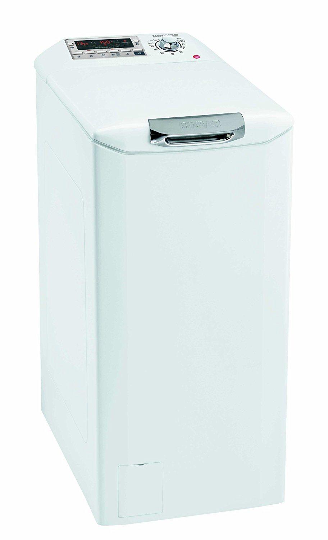 Die Hoover DYSM 6143 D3 Waschmaschine in der Frontansicht