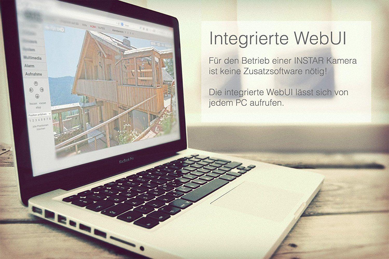 INSTAR IN-5907HD Wlan IP Kamera WEBUI
