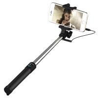 Selfie Stange, JETech Einteiligen U-Form Batterielos Selfie Stange Stick Stab Monopod Erweiterbare Drahtlose Kabelsteuerung (Nein Batterie Nein Bluetooth) mit Halterung Halter für iPhone, iPod, Samsung und die meisten anderen Smartphones - 2002
