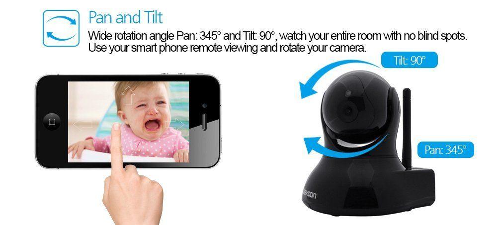 KK002 1.0MP HD IP-Kamera 5xZoom Autofocus 720P Videoüberwachung Live View