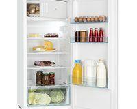 Klarstein Coolzone 186 Kühl-Gefrierkombination Einbaukühlschrank (171 Liter Kühlfach, 15 Liter Gefrierfach, 122 cm, 42 dB, Gemüsefach, Eiablagen) weiß [Energieklasse A+]