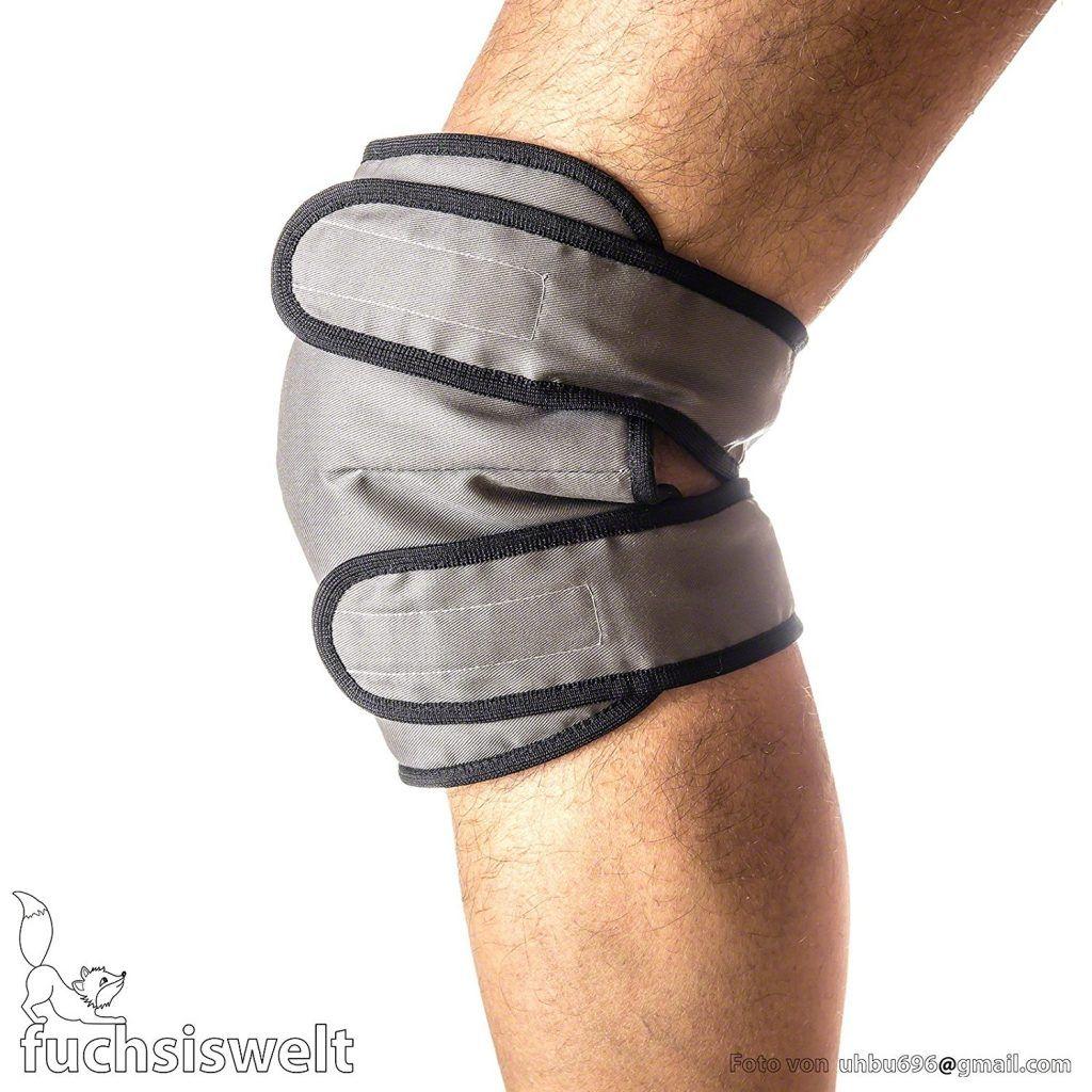 Kniew%C3%A4rmer Knieschutz Aus Kamelwolle Mit Klettverschluss W%C3%A4rmekissen Kniebandage L 35 45 Cm