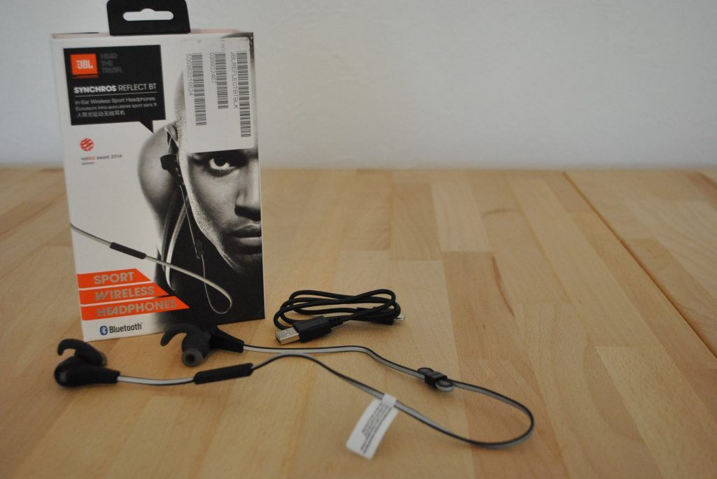 In ear Kopfhörer JBL3 mit Verpackung im Test
