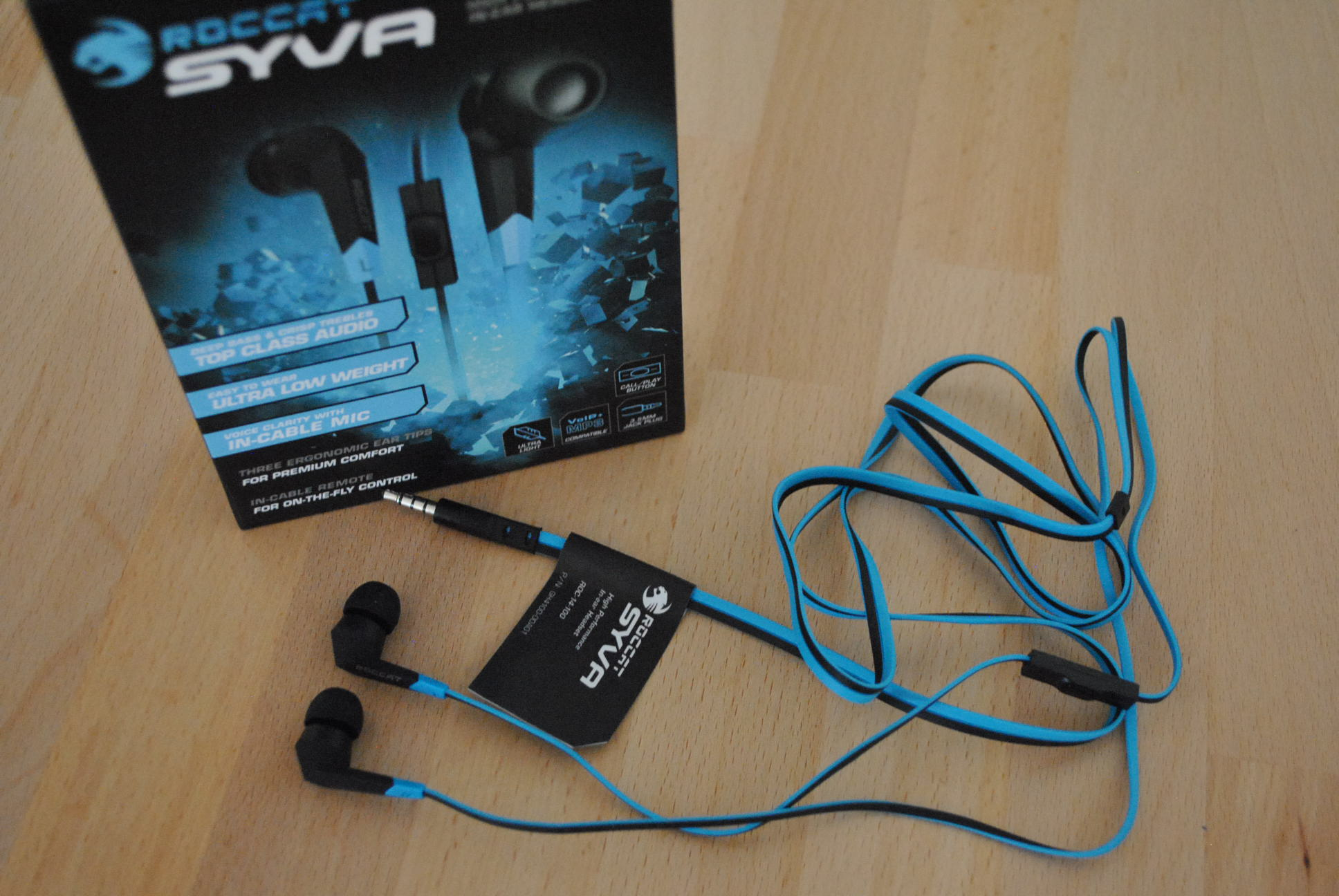 Iphone Entfernungsmesser Headset : Roccat syva high performance in ear headset im test