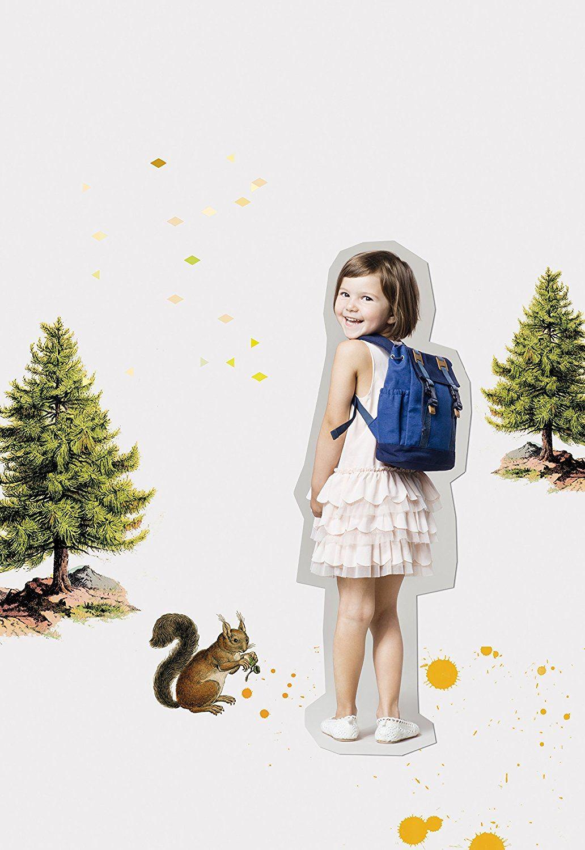 Lässig Vintage Little One und Me Backpack, klein Kinderrucksack Kindergartentasche
