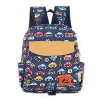 La vogue Kinderrucksack Kindergartentasche Kindergartenrucksack Mini Backpack Print Auto