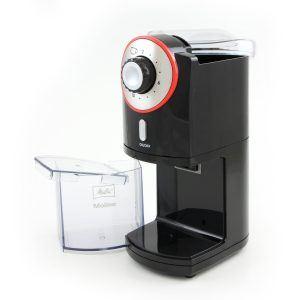 Melitta Kaffeemühle Molino, elektrisch, Scheibenmahlwerk, schwarz