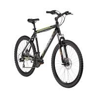 Mountainbike 26 Zoll Shark 2.0 von Hillside in schwarz
