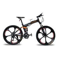 Mountainbikes doppelte Federung Mann matt-schwarz Shimano M310 ALTUS 24 Geschwindigkeiten