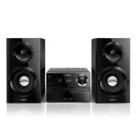 Philips MCM2350/12 Stereoanlage 70 Watt, Bassreflex schwarz