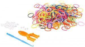 Playtastic Gummibänder-Set, Nachfüllpack, 614 Teile