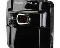 Rollei CarDVR-110 GPS Auto-Kamera mit Mikrofon (Full HD, Weitwinkel-Objektiv) schwarz