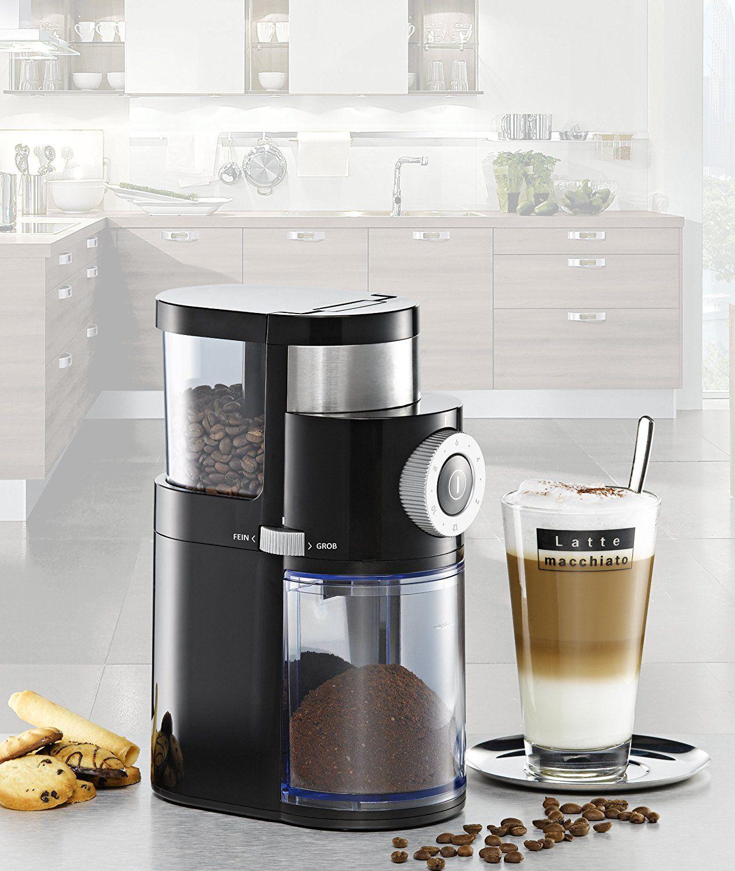 Rommelsbacher EKM 200 mit Scheibenmahlwerk - Kaffeemühle - 110 Watt - schwarz Design
