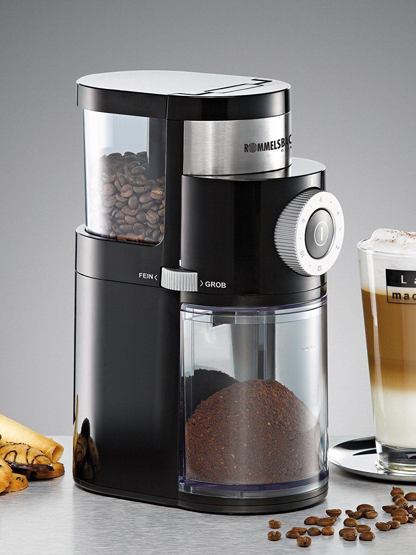 Rommelsbacher EKM 200 mit Scheibenmahlwerk - Kaffeemühle - 110 Watt
