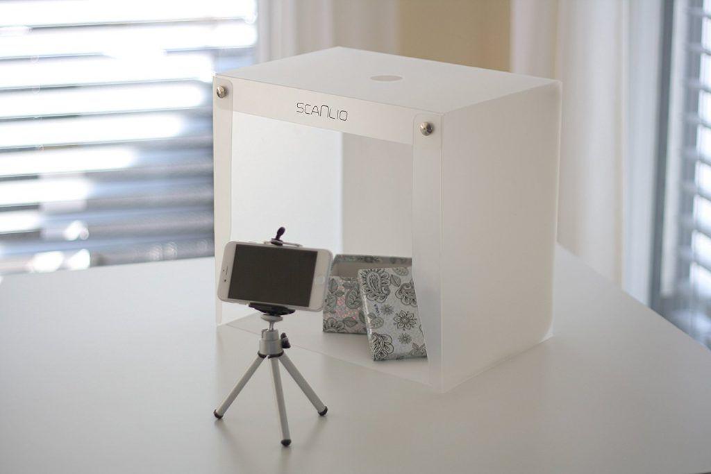 SCANLIO Mobiles Fotostudio Faltbarer...