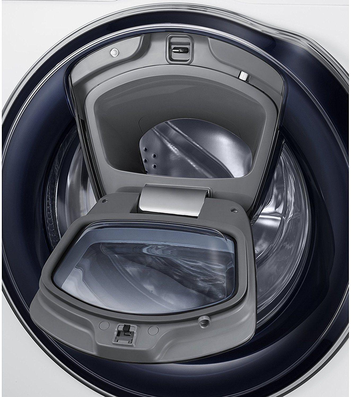 Geöffnete Ladeluke der Samsung WW80K6404QW EG Waschmaschine