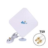 TS9 4G Hochleistungs LTE Antenne 35dBi Netzwerk Ethernet Verstärker-Antenne Richtantenne Signalverstärker Verstärker für Huawei E5372 E398 E3276 E392 E3272 E8278 R212 MF93 R215