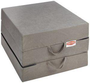 Vergleichssieger Gigapur 25069 Visco Luxus Klappmatratze in grau