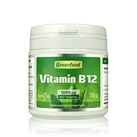 Greenfood Vitamin-B12-Präparat Methylcobalamin im Test