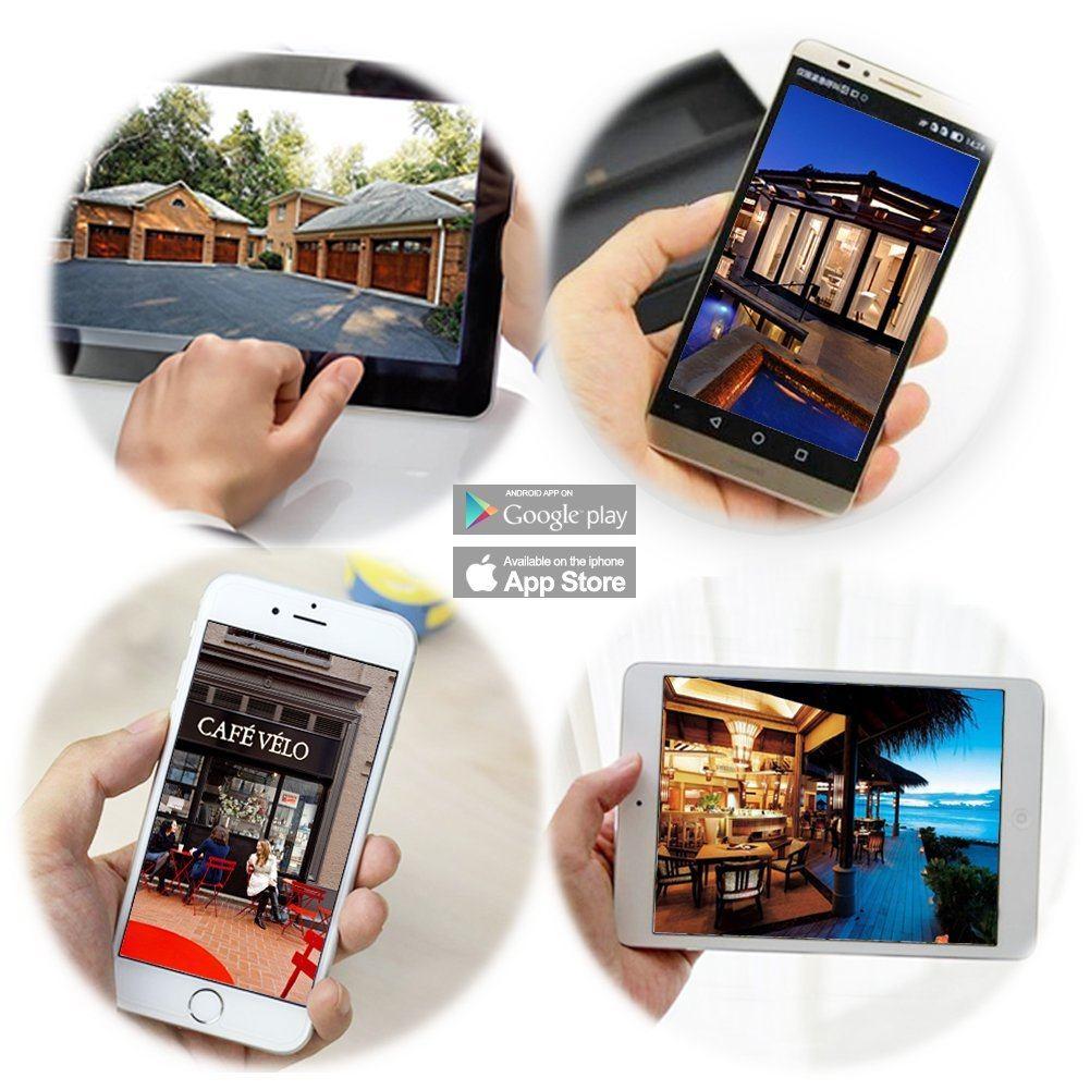 Wansview Außenbereich IP Kamera App