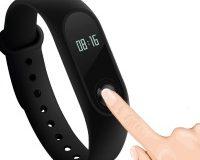 Xiaomi Mi Band 2 Fitnessarmband/Smartwatch, wasserfest, mit Herzfrequenzmesser, OLED-Display, Schrittzähler, Kalorienverbrauch